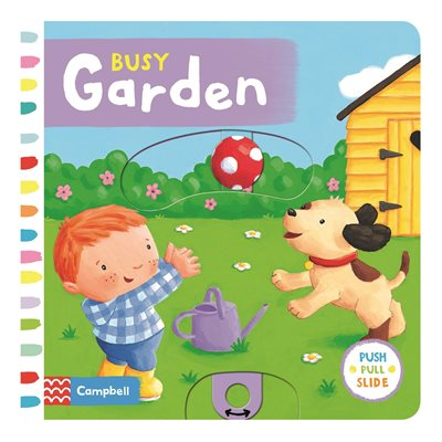 Book cover for Busy Garden